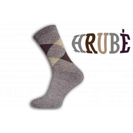 Pánske teplé thermo ponožky na zimu