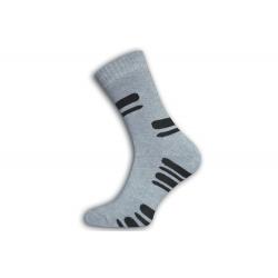 Vysoké pánske lacné termo hrubé ponožky