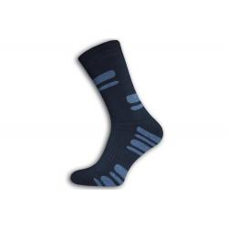 Hrubé lacné vysoké ponožky pre chlapa 44-47