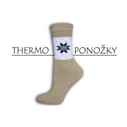 Bambusové vysoké lacné hrubé teplé ponožky