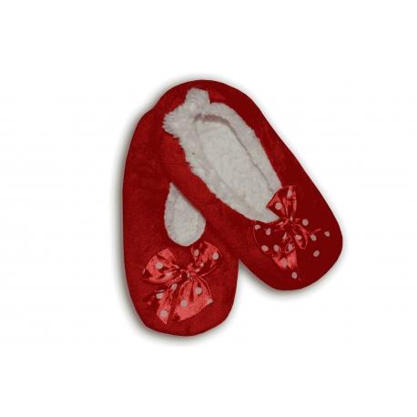 Mäkkučké dámske pohodlné papuče na doma