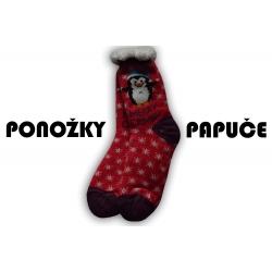 IBA 35-38! Mikulášske vianočné ponožky