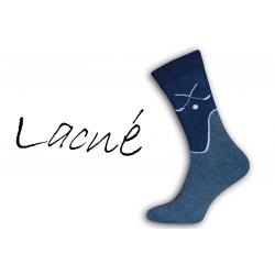 43-46 Pre hokejistou - termo ponožky 98% bavlna