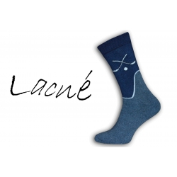 Teplé pánske vysoké ponožky