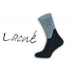 Pre hokejistou - termo ponožky 98% bavlna
