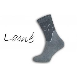 IBA 39-42! Pre hokejistou - termo ponožky 98% bavlna