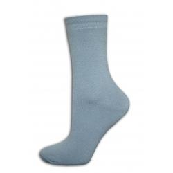 Dámske lacné hrubé sivé ponožky