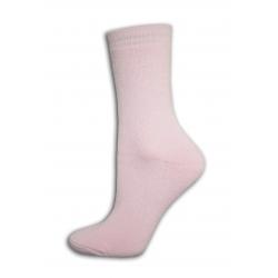 Dámske lacnéhrubé ružové  ponožky