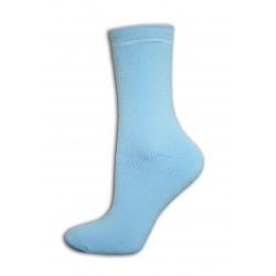 Dámske lacnéhrubé modré  ponožky