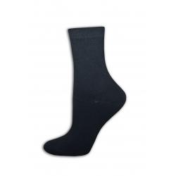 Čierne  bavlnené ponožky