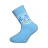 Krásne dievčenské hrubé termo ponožky