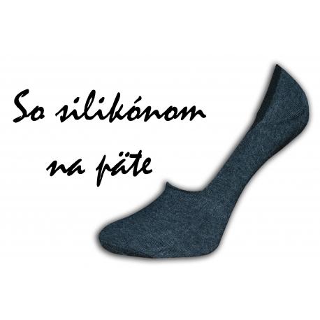 Pohodlné dámske neviditeľné ponožky do botasiek