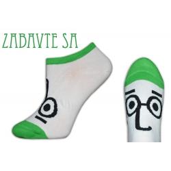 Nespadnú! Nízke ponožky s očami