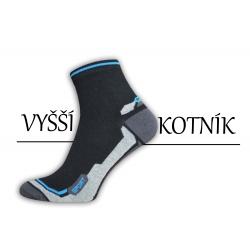 POSLEDNÝ KUS 39-42! Bavlnené pánske ponožky s vyšším kotníkom