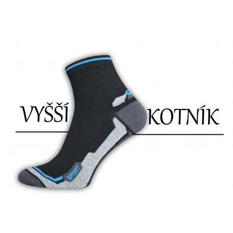 Pánske bavlnené pohodlné ponožky s vyšším kotníkom