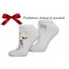 Žirafové dámske darčekové ponožky