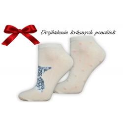 Mačičkové dámske darčekové ponožky