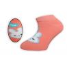 Krásne nízke bavlnené dievčenské ponožky