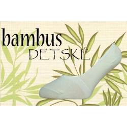Balerínkové bambusové ponožky pre dievčatá
