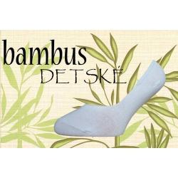 IBA 24-27! Balerínkové bambusové ponožky pre dievčatá