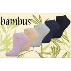 IBA 38-41! Kotníkové bambusové ponožky 5 párov