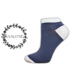 IBA 38-41! Modré kotníkové ponožky