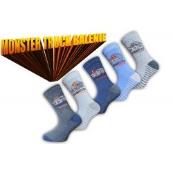 Ponožky s autom pre chlapcov výhodné 5-balenie