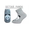 Detské pandičkové ponožky
