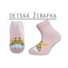 Detské žirafkové ponožky
