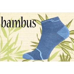 POSLEDNÝ KUS 39-42! Modré kotníkové ponožky
