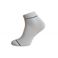 Kotníkové bledé pánske ponožky