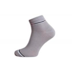 Bledé kotníkové pánske ponožky