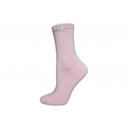 Luxusné marhuľové dámske ponožky