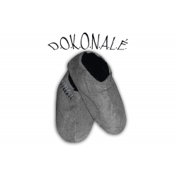 IBA 39-42! Pánske béžové papuče s vyšším nártom