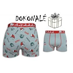 Najkrajšie pánske vianočné sexy boxerky