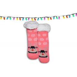 IBA 24-27! Huňaté detské ponožkové papuče