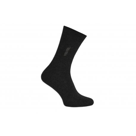 Vysoké tmavé pánske ponožky 43-46