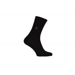 Klasické oblekové čierne pánske ponožky 43-46