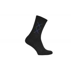 POSLEDNÝ KUS  39-42! Lacné pánske tmavé termo ponožky