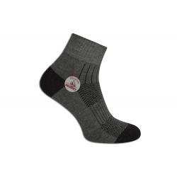 Pánske sivé funkčné ponožky