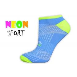 LIVE STYLE-športové dámske ponožky-bl.modré