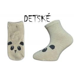 ONO+ONA Pandové detské telové ponožky