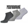 Priedyšné lacné pánske ponožky na leto, 3-páry