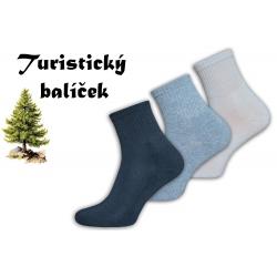 Polofroté turistické ponožky
