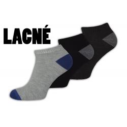 Lacné nízke pánske ponožky vo výhodnom 3-balení