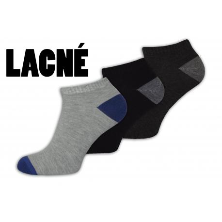 Lacné nízke pánske ponožky vo výhodnom 3-balení 2191699be5
