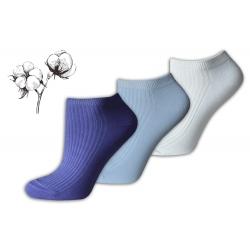 IBA 39-42! 95%-né jednofarebné ponožky - 3páry