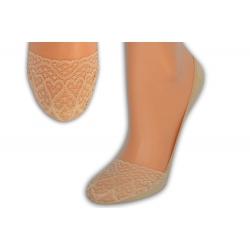 Bambusové ťapky so srdiečkovým vzorom -telové