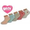Nádherné dievčenské bavlnené ponožky na leto