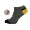 Nízke farebné športové ponožky